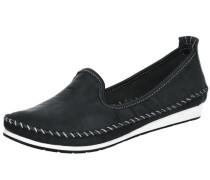Komfort-Slipper schwarz / weiß