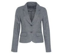 Kurzblazer 'Juris tweed' grau