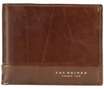 Wally Uomo Geldbörse Leder 12 cm braun