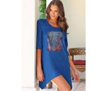 Nachthemd blau / grau