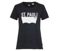 T-Shirt 'the Perfect Tee' schwarz
