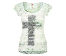 T-Shirt 'Faith' grün