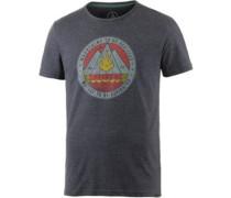Dusk Printshirt Herren grau