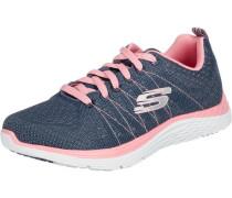 Sneaker navy / rosa / weiß