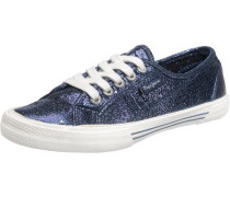 Aberlady Crackle Sneakers marine