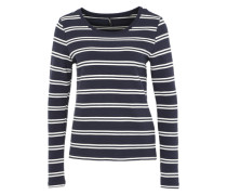 Pullover 'Onlcarmen' navy / weiß