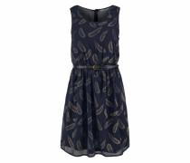Kleid 'acel' blau