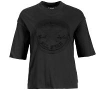 Embossed Chuck Patch T-Shirt Damen schwarz