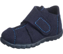 Kinder Hausschuhe Weite M4 blau