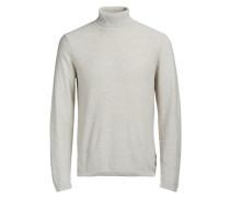 Pullover Rollkragen- weiß