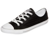 Chuck Taylor All Star 'Dainty OX' Sneaker Damen schwarz / weiß