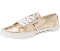 Metal Sneakers 'Aberlady' gold