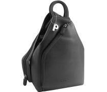 Full Rucksack 27 cm schwarz