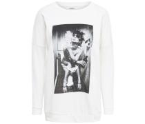 Lässiges Sweatshirt weiß