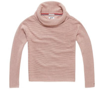 Pullover 'thdw Basic RN Sweater L/S 5' rosa