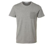Baumwoll-T-Shirt grau