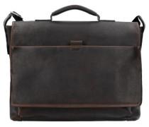 'Bonola' Aktentasche Leder 40 cm Laptopfach