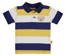 'Poloshirt' blau / gelb / mischfarben / weiß