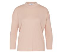 Geripptes Shirt 'Vika' pink