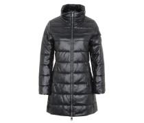 Wintermantel schwarz