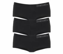 Panty (3 Stück) schwarz / weiß
