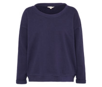 Sweatshirt 'word Sweat' blau