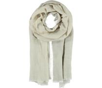 Leinen-Viskose Schal beige