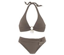 Triangel-Bikini grau