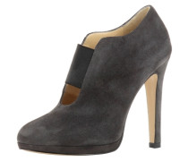 Damen Ankle-Boot grau