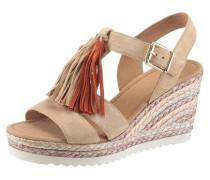 -Sandalette hellbeige / hellbraun
