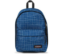 Authentic Collection X Out of Office Rucksack 44 cm Laptopfach blau / weiß
