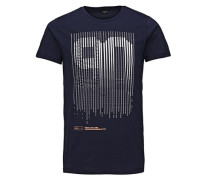 T-Shirt Grafik blau