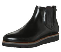 Chelsea-Boots aus Kalbsleder schwarz