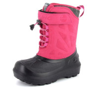 Stiefel 'nordlys' grau / pink