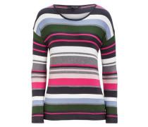 Multicolor-Streifenpullover
