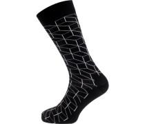 ein Paar Socken schwarz / weiß