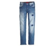 Seattle: Stretchige Used-Jeans blue denim
