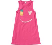 Kinder Jerseykleid pink