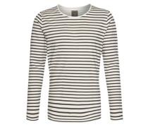 Shirt mit Streifen weiß