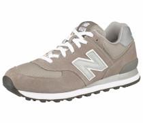 Sneaker 'ml574' hellbeige / dunkelbeige / schlammfarben / perlweiß