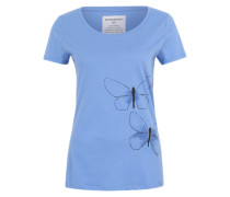 Printshirt 'Mari' blau