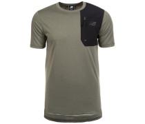 '247 Luxe' T-Shirt Herren oliv