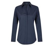 'Essential' Bluse mit seitlichem Reißverschluss