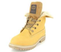 Stiefel Leder beige