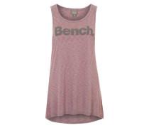 BENCH Tank Top 'Citified' grau/orangerot