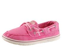 MUSTANG Slipper in Mokassin-Optik pink