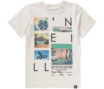 T-Shirt 'neos' für Jungen mischfarben / weiß