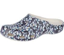 Clogs 'Freesail' marine / hellblau