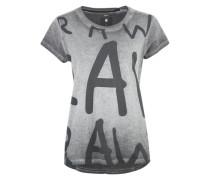 Shirt mit Aufdruck schwarz