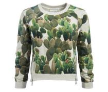 Sweatshirt 'pascua' dunkelgrün